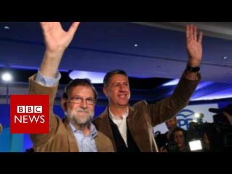 Catalan crisis: Spain's Rajoy vows to end 'separatist havoc' - BBC News