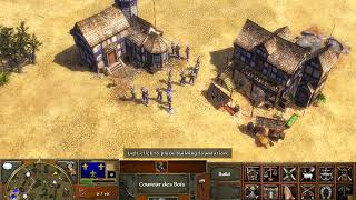 Age Of Empires 3 gameplay w/cheats part 3