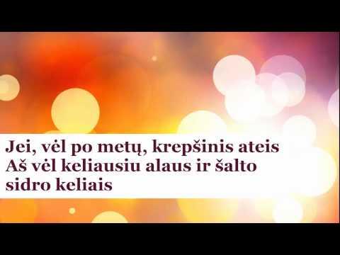 Čiulpuonėliai - Jau Nutilo Sirgaliai (lyrics) HD