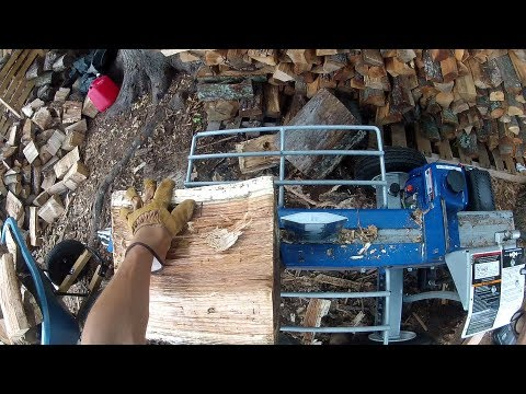 20-Ton Powerhorse Horizontal Dual Split Log Splitter
