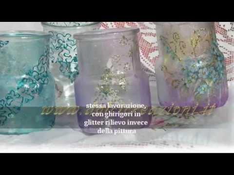 Come rivestire un vasetto di vetro