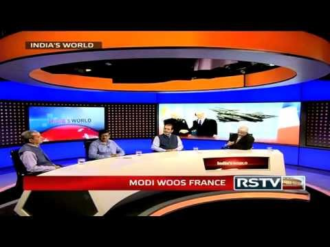 India's World - PM Narendra Modi woos France