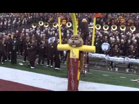 Goldy Gopher's 2013 Mascot National Championship Entry Video