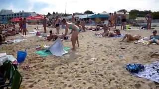 Море девушки пляж
