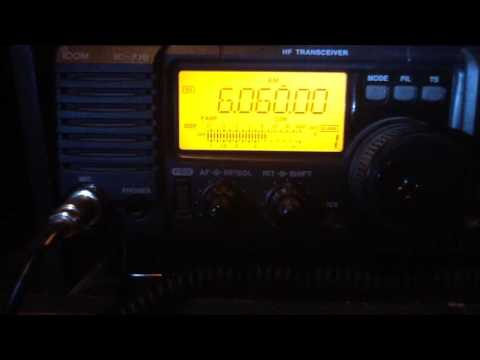 Radio Nord Revival 6060 kHz AM test from Sala SE, 22.05.2016 22.00 UTC in Oslo Norway. Thanks!