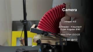 4x5 Large Format - Shooting / Developing / Editing