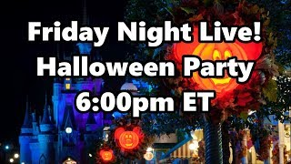 Live Stream Announcement - 9-20-19 - Friday Night Live - ResortTV1 | Walt Disney World