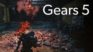 Gears 5 PC co-op gameplay