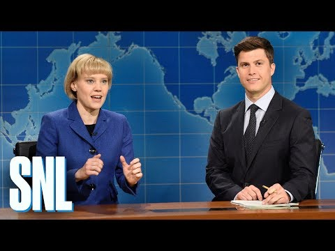 Weekend Update Angela Merkel on Reelection - SNL