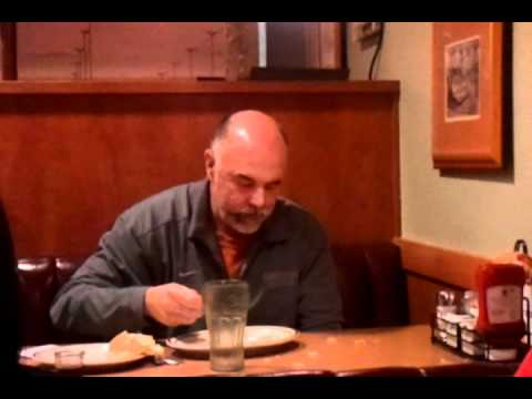 Drunk Dude Eats A Napkin