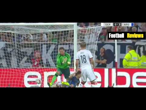 Germany vs Argentina 2 4 All Goals and Highlights Friendly 2014   Alemania vs Argentina 2014 FULL HD