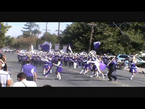 Archbishop Riordan High School Marching Band @ Delta Band Review 2013