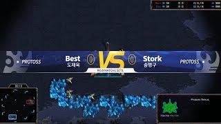 KSL S3 - RO.8 Best vs Stork [PvP] | StarCraft II (Part 1)