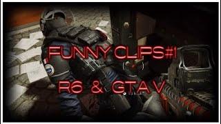 Funny Clips #1   R6 & GTA V