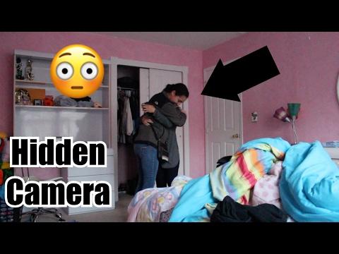 hidden camera in her bedroom! youtube
