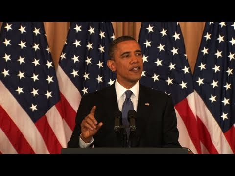 Watch President Obama s Full Speech on Mideast Policy