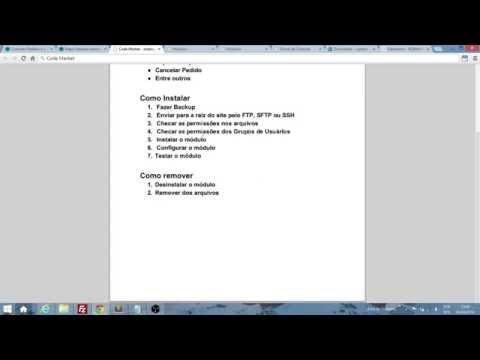 Aprenda a instalar Módulos para o E-commerce Opencart - 2014