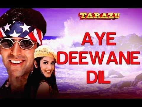 Ae Deewane Dil - Tarazu | Akshay Kumar & Sonali Bendre | Alka...
