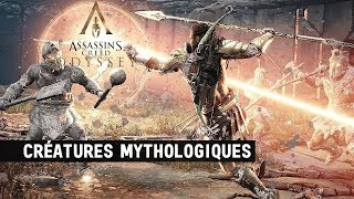 How to kill All Mythical Creature in- Assassin's Creed Odyssey 2018 (Medusa,Sphinx,Cyclops,Minotaur)