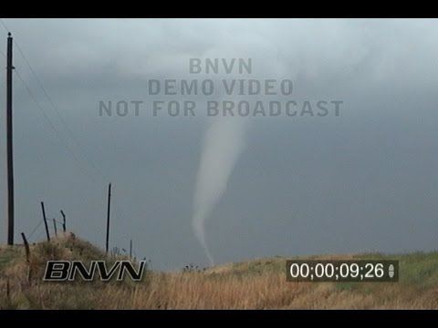 5/22/2008 Kansas Tornado Outbreak stock video