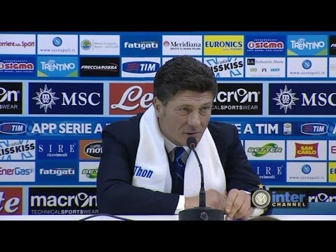CONFERENZA WALTER MAZZARRI POST NAPOLI-INTER