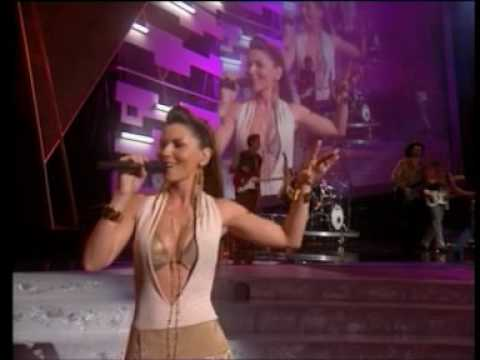 Shania Twain - Medley: I'm Gonna Getcha Good! & Up! ( Live In Ama).mpg video