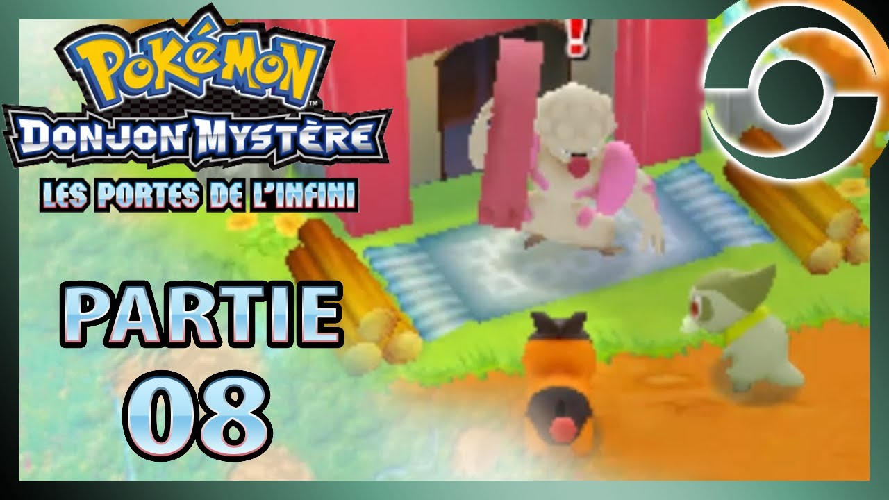 Pok mon donjon myst re 08 les portes de l 39 infini la - Pokemon donjon mystere porte de l infini ...