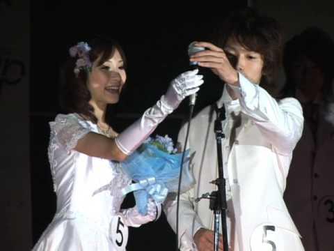 ウエディングドレスで登場!見瀬有紀子