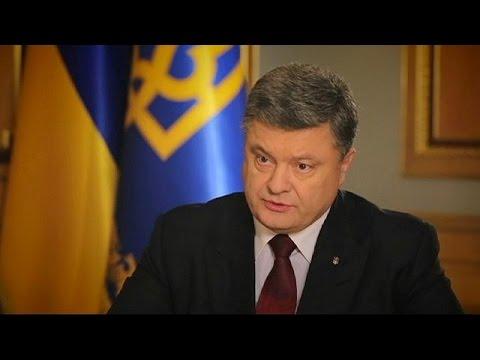 Poroschenko zur Rolle der EU in der Ukraine-Krise