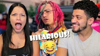 Mom Reacts To LIL PUMP'S MUSIC VIDEOS! *GUCCI GANG, BOSS, NEXT!*