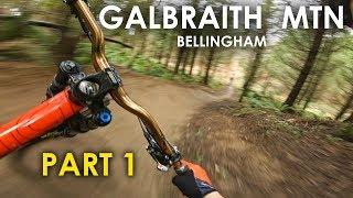 SICK FLOW BRO! Riding 'SST' at Galbraith Mtn Bellingham WA - Epic Youtube Collab!