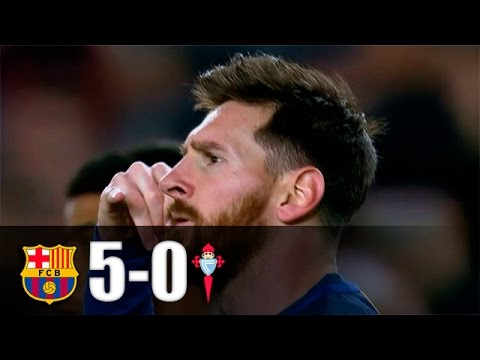 FC Barcelona vs Celta de Vigo [5-0][04/03/2017][La Liga - Jornada 26] EL BARÇA JUGA A RAC1