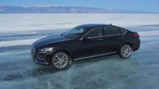 Genesis G80 на озере Байкал
