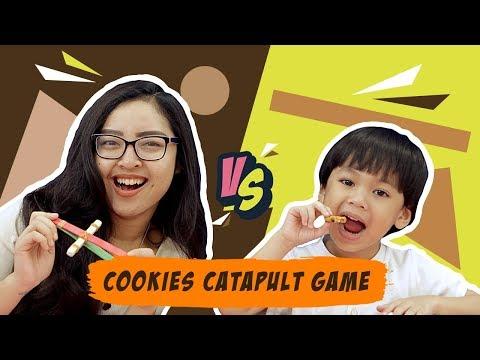 Cookies Launcher Challenge with Savira dan Jordan KATA BOCAH | FOODPLAY #14
