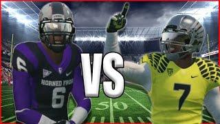 TD vs AD!!! 99 YARD TD CHALLENGE!!! BATTLE OF BROTHERS!!! NCAA FOOTBALL 14 GAME PLAY