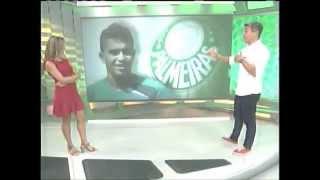 Dudu & Palmeiras 2015 - Esporte Espetacular 18/01/2015
