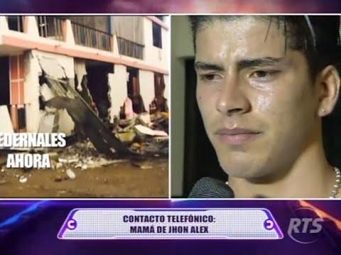 Combate RTS - Nos Contactamos vía telefónica con la mamá de Jhon Alex desde Pedernales