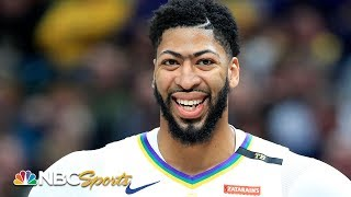 Did Lakers or Pelicans win Anthony Davis trade? | The Daily Line | NBC Sports