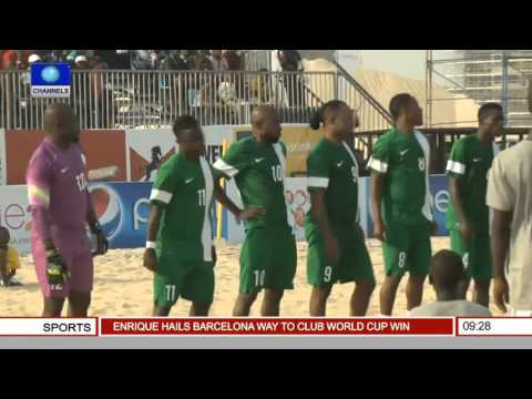 Sports This Morning: Nigeria Finish Second Place At COPA Lagos 2015  --  21/12/15
