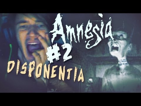 GHOST SCARED THE FUCK OUT OF ME! D: - Amnesia: Custom Story - Part 2 - Disponentia