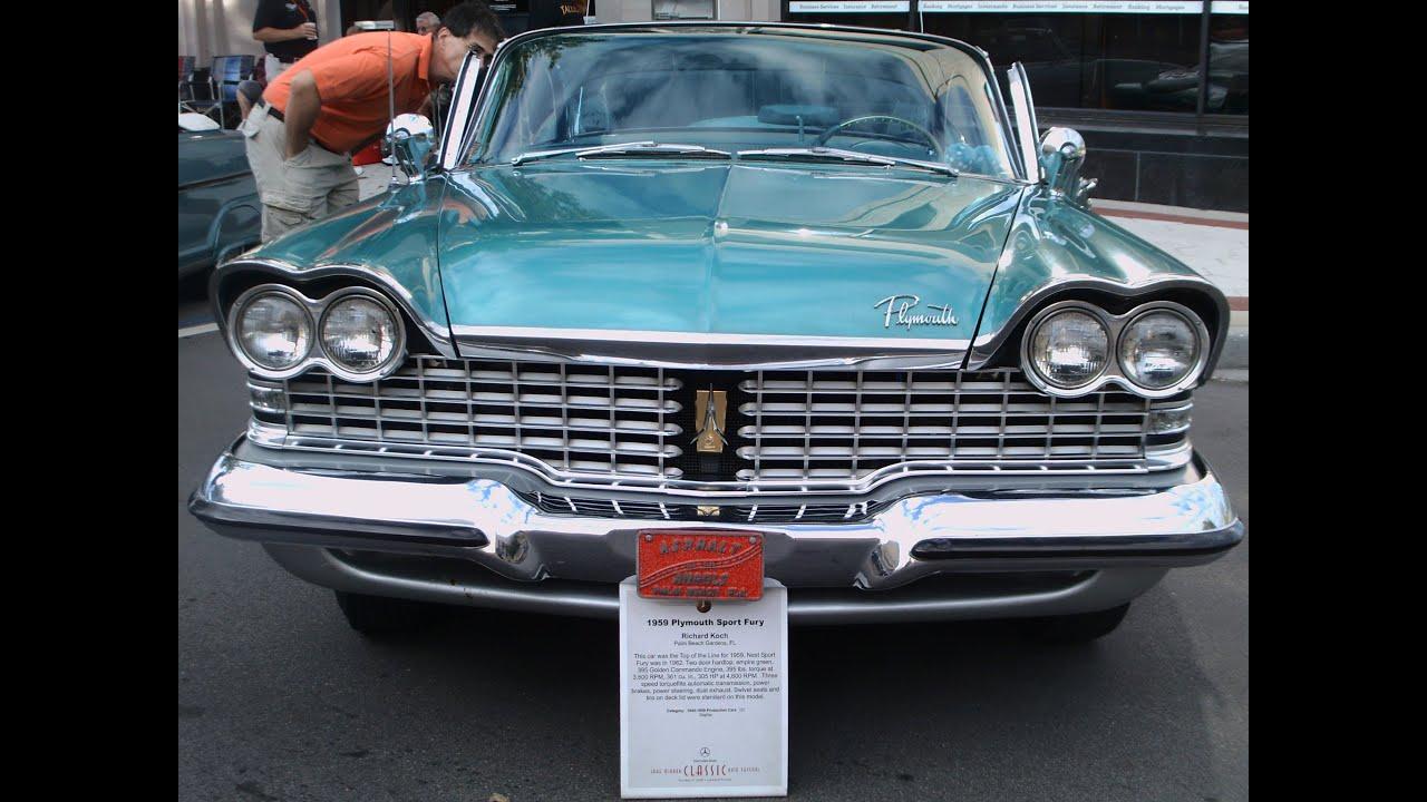 1959 Plymouth Sport Fury Hardtop Grn Lakemirror102012