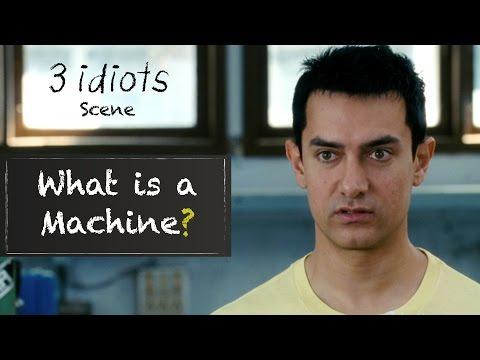 What Is A Machine Funny Scene 3 Idiots Aamir Khan