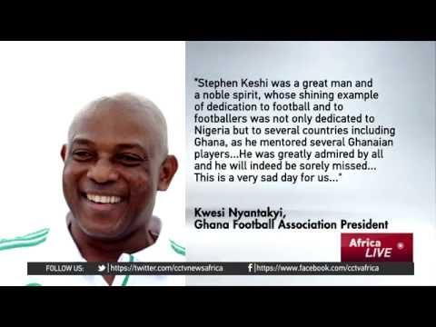 Super Eagles player & coach Stephen Keshi dies at 54
