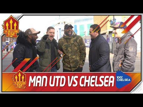 Chelsea vs Man Utd FA Cup COMBINED 11 United Stand vs 100 Percent Chelsea