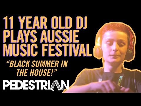 11 Year-Old DJ 'Black Summer' Performs First Gig