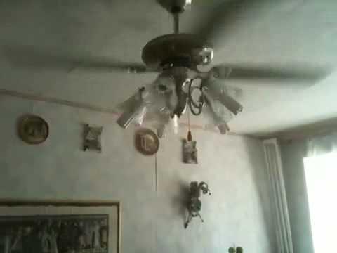 Потолочный вентилятор-люстра