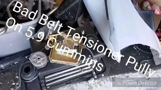 Bad Tensioner Puller On my 5.9 Cummins
