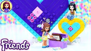 Heart Box Friendship Pack Lego Friends Dress Up Build Review Silly Play