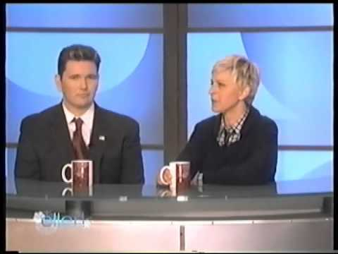 co-anchor news report - degeneres humor