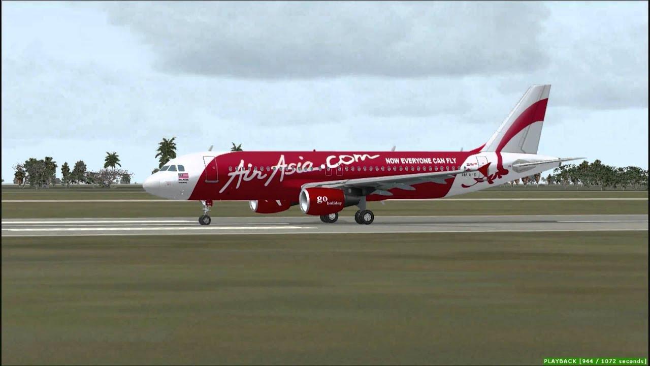 Airasia Fsx Fsx hd Airasia Jakarta